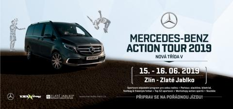 MERCEDES-BENZ ACTION TOUR VE ZLATÉM JABLKU