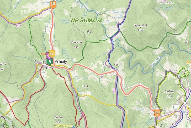 Cyklostezky A Cyklotrasy Prod Deti Na Kole Mapa