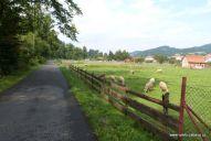 Cyklostezkou Bečva z Velkých Karlovic do Vsetína