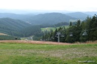 Autem na vrchol Kohútka, první slovensko-české informační centrum